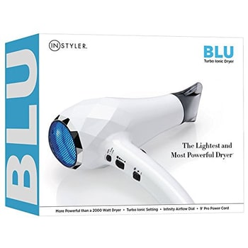 InStyler BLU Turbo Ionic Hair Dryer Packaging