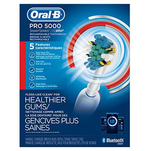 Oral-B Pro 5000 SmartSeries Bluetooth Electric Toothbrush Packaging