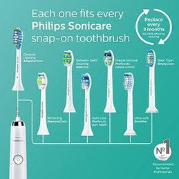 Philips Sonicare DiamondClean Electric Rechargeable Toothbrush Brush Heads
