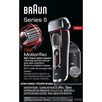 Braun Series 5 5090cc Electric Foil Shaver Packaging