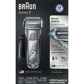 Braun Series 7 790cc Electric Shaver Packaging