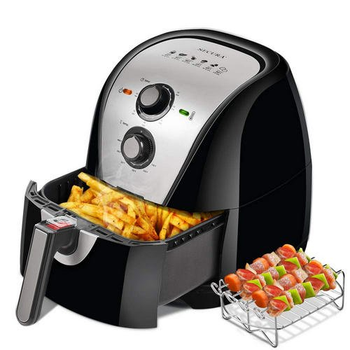 Secura Electric 5.3Qt XL Air Fryer