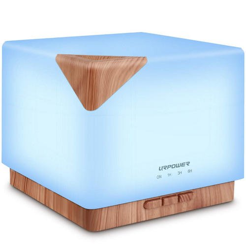 URPOWER Square Aromatherapy Oil Diffuser