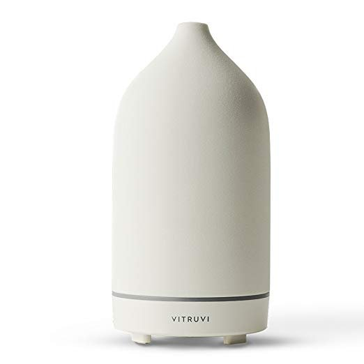 Vitruvi Stone Ultrasonic Essential Oil Diffuser