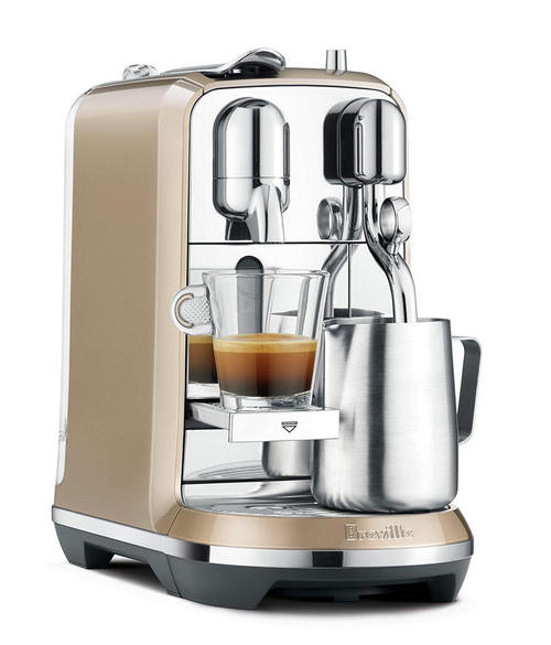 Breville-Nespresso Creatista Plus Coffee Espresso Machine