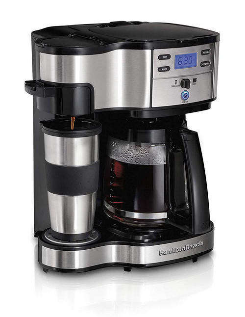 Hamilton Beach 2-Way Brewer Coffee Machine